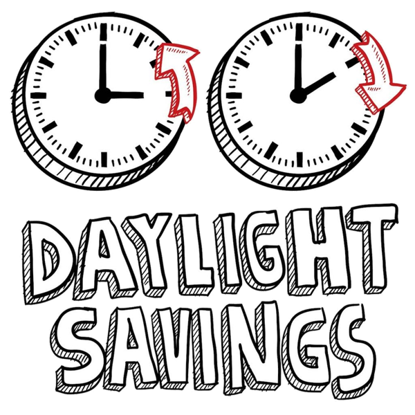 daylight saving time = サマータイム